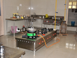 View of Clean & Hygienic Kitchen