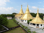 View of Dhamma Meditation Hall