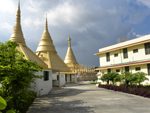 Side View of Dhamma Meditation Hall